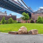 Gravel Stabilized Pathway at Brooklyn Bridge Park