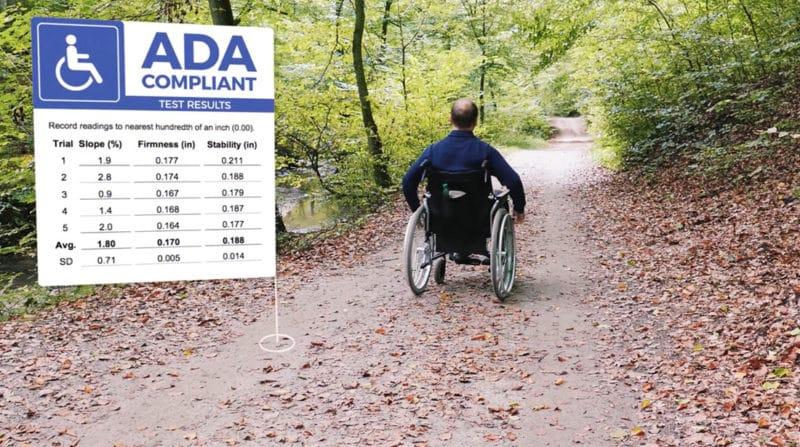Organic Lock is ADA Compliant