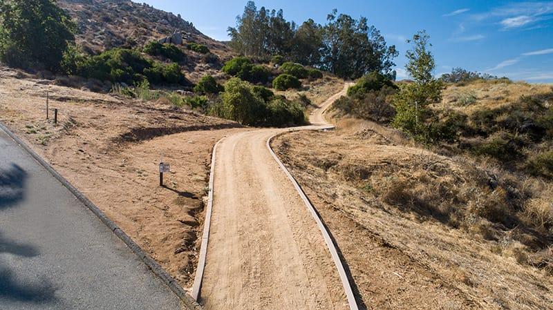 Covey Ranch Trail, California