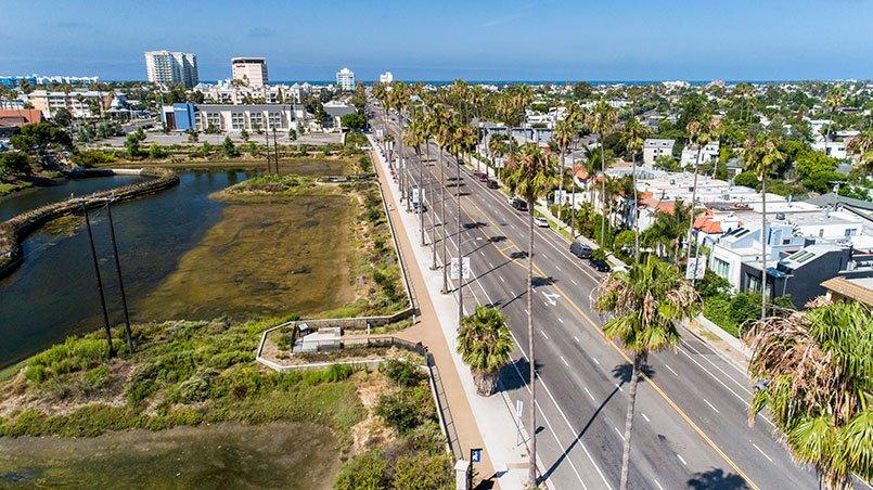 Marina Del Ray - Permable Pathway